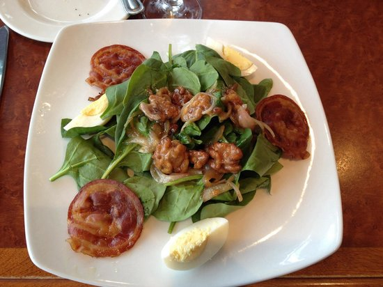 The American Grille: Dineout menu warm salad