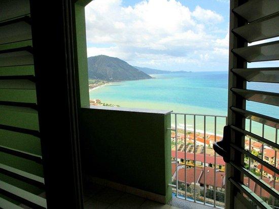 Hotel Avalon Sikanì: потрясающий вид из номера