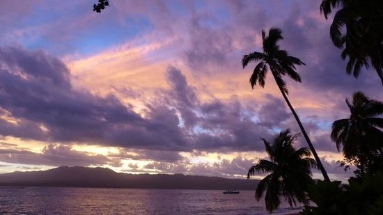 Qamea Resort And Spa Fiji: Sunset at Qamea