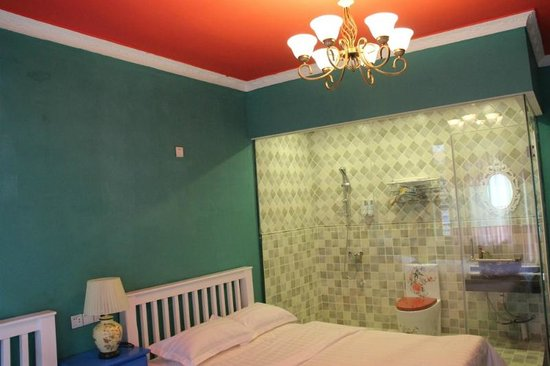 Guanjinglou Hotel: family room's bathroom