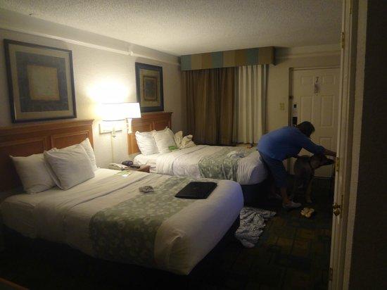 La Quinta Inn Pensacola : typical dogfriendly la quinta room
