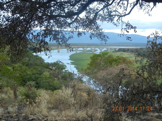 Mvubu River Lodge: Another stunning view