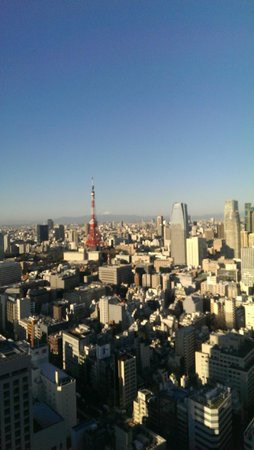 Park Hotel Tokyo: View from room 3307