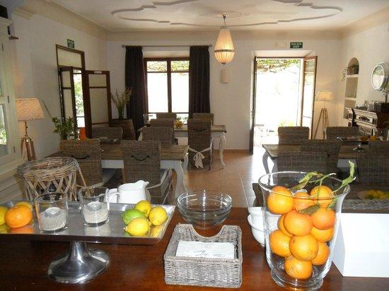 Hostal Villa Primavera: Frühstückssaal