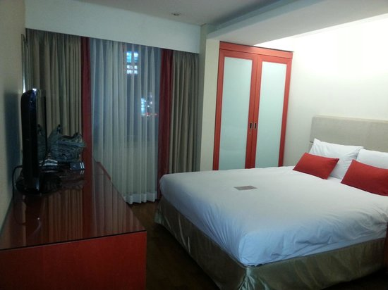 Prince Hotel Seoul: Comfy bed