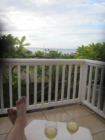 Garden Gate Bed and Breakfast: View from our Balcony!