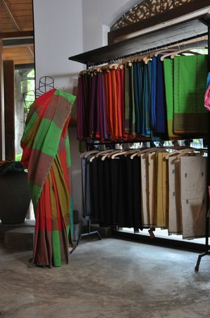 Kurunegala, Sri Lanka: Saree section