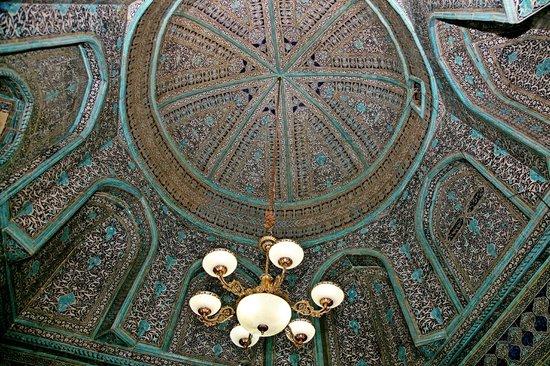 Pakhlavan Makhmud Mausoleum: Потолок мавзолея