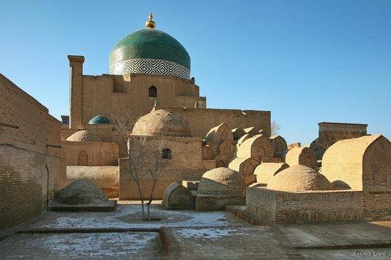 Pakhlavan Makhmud Mausoleum: Общий вид мавзолея