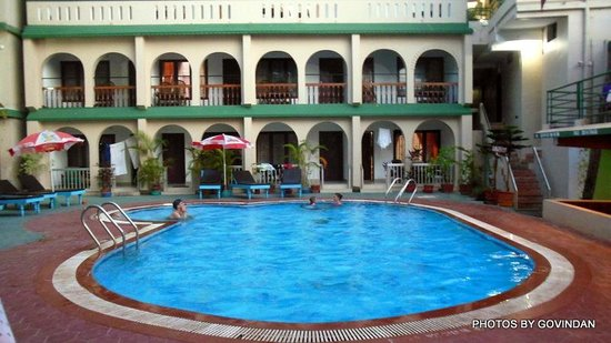 Jeevan Beach Resort: View of rooms and Swimming Pool