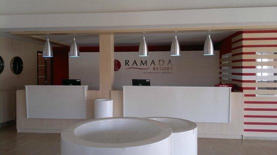 Ramada Isla De Margarita: Recepcion