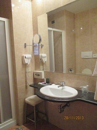 Hotel Lancaster : шампуни, гель для душа прилагаются