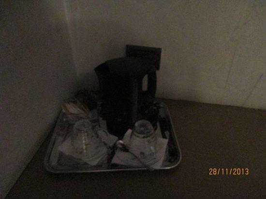 Hotel Lancaster : чай