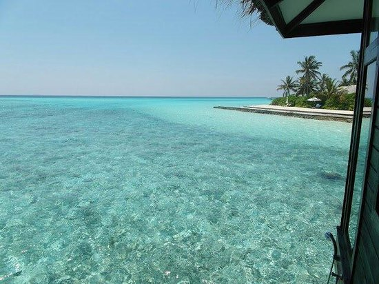 Velassaru Maldives: View from our water villa