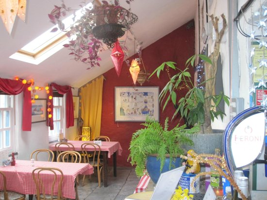 The Shed Fish & Chip Bistro: The quirky Interior