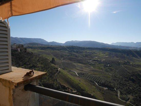 Parador de Ronda : 部屋からの景色