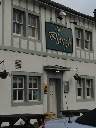 The Plough Hotel: The front of the pub/hotel