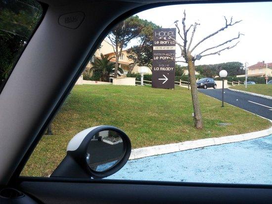Hotel Le Biarritz : vue exterieur;; 3 etoiles !!!!!