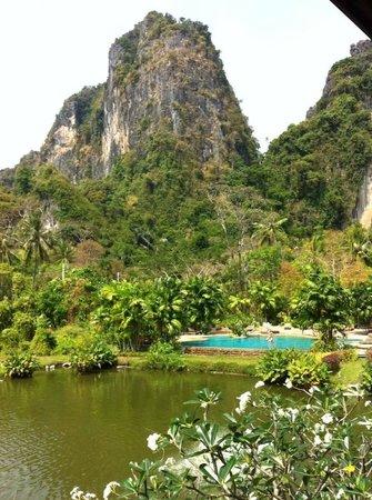 Railay Princess Resort and Spa: Balcony view!