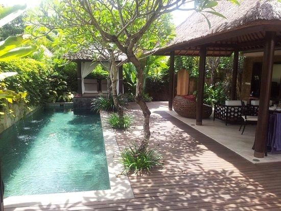 Private Lap Pool And Cabana Picture Of Amarterra Villas Bali Nusa Dua Mgallery Tripadvisor