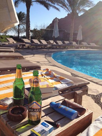 Dahab Paradise: Pool area