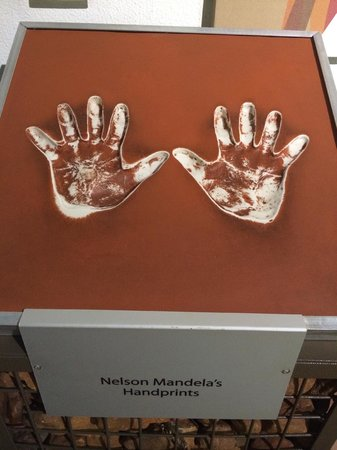 The Cradle of Humankind: Hand Print of gr8 legend of Tata..!!