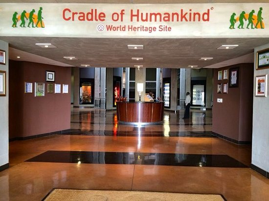 The Cradle of Humankind: Entrance