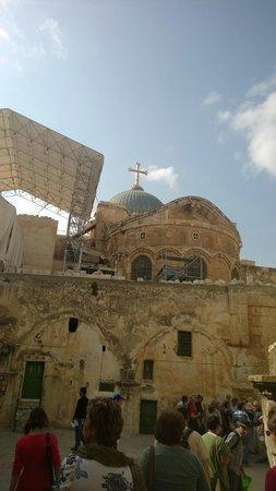 Vieille Ville de Jérusalem : на крыше