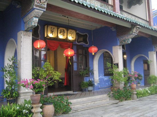 Cheong Fatt Tze - The Blue Mansion : Entrance