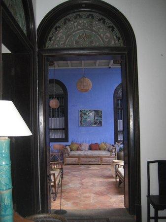 Cheong Fatt Tze - The Blue Mansion : Internal shot