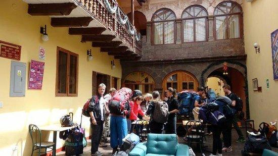 Cusco Plaza Nazarenas : Cusco Plaza 11   Lobby area...lots of ambience