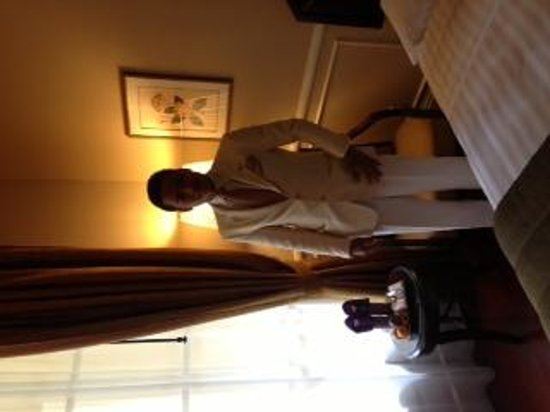 Raffles Hotel Le Royal: Our friendly guest manager