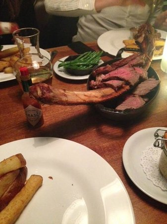 The Butchershop Bar and Grill : The Tomahawk Steak