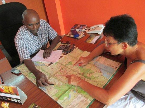 Julius Tact Safaris - Private Day Trips: JT Safaris Office