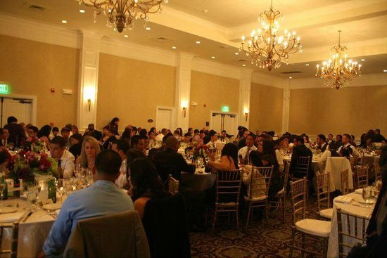 Oceano Hotel & Spa Half Moon Bay: Banquet room