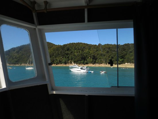 Aquapackers : View from the private room on the upper deck