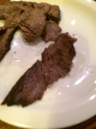 Toby Carvery Walsall Broadway: Not happy with beef