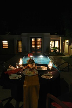 Banyan Tree Phuket: In-villa BBQ