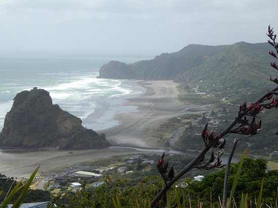 TIME Unlimited Tours: Black sand beach on the west coast.