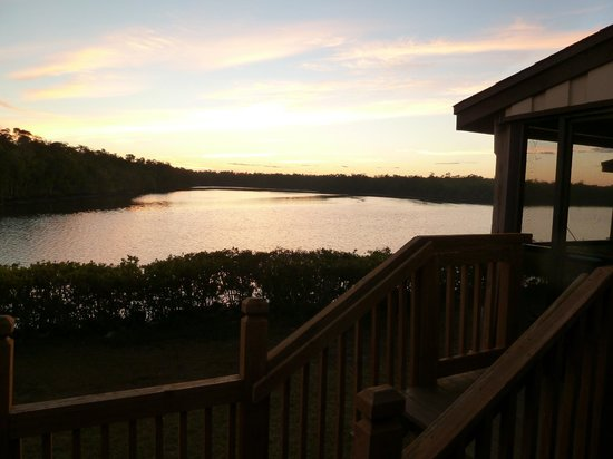 River Wilderness Waterfront Villas, Everglades: View from room