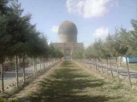 Gawhar Shad Madrasa and Mausoleum: Photo by H. Sediqyan