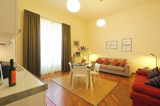 Relais Martinez Florence: zona soggiorno
