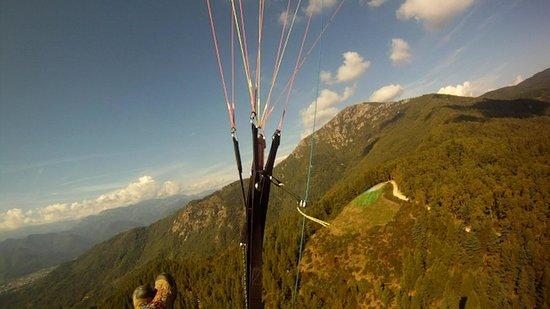 Locanda Dl'Angel : vista monte san bernardo