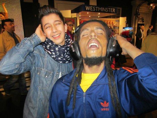 Madame Tussauds London: Bob Marley