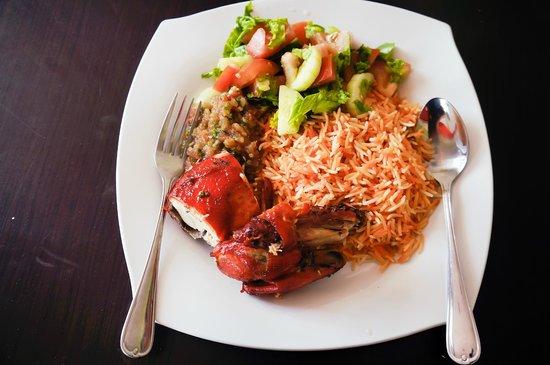 Club 7 Hotel : Rice and Tandoori at Phosphorus Restaurant, Club7