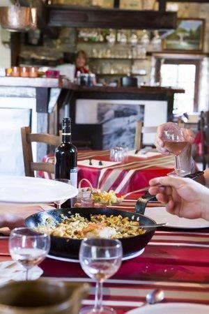 Plat du restaurant La Table des Basques