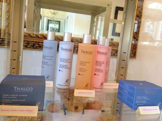 Rose Garden Treatment Rooms: Harnessing the goodness of sea algae in all of our facial products from Thalgo.