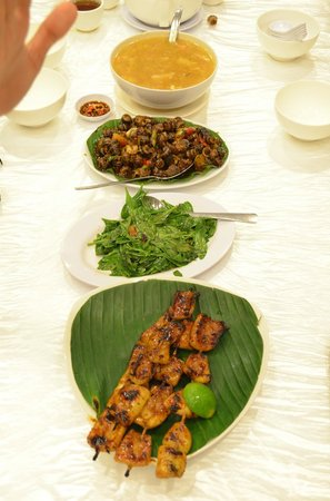 Layar Seafood : Our order
