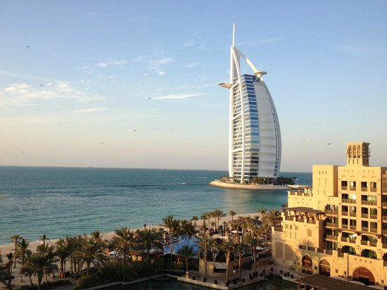 Jumeirah Mina A'Salam: View from our room of the Burj al Arab