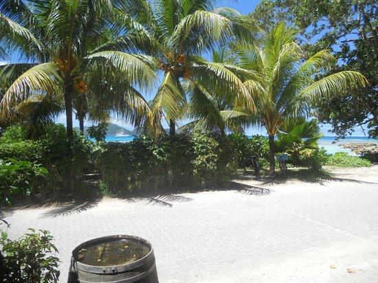 Moon Light Beach Villa: view from the hotel 2